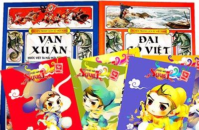 Đưa lịch sử Việt Nam vào truyện tranh