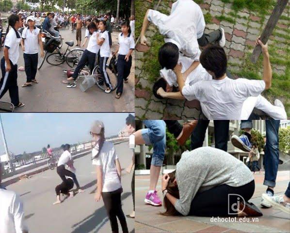 Tinh trạng bạo lực học đường ở học sinh