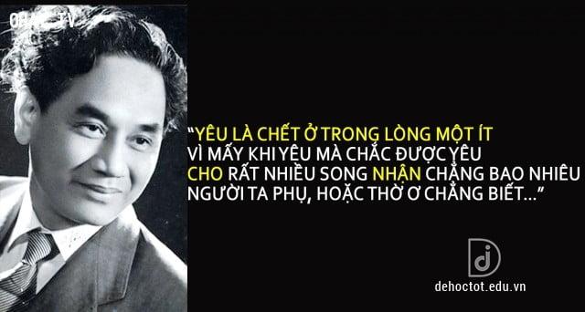 Cuộc đời và sự nghiệp thi ca của nhà thơ Xuân Diệu