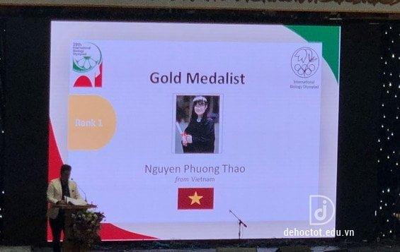 Olympic Sinh học quốc tế 2018