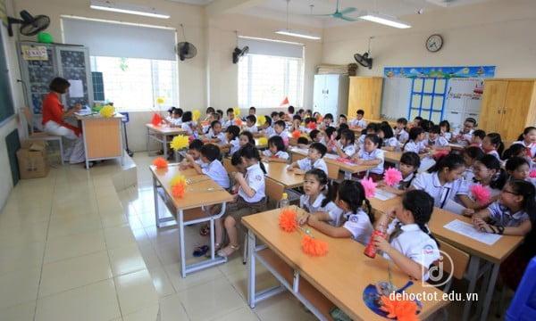 Lớp học Tiểu học Chu Văn An