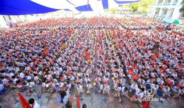 Lễ khai giảng Tiểu học Chu Văn An Hà Nội 2018-2019